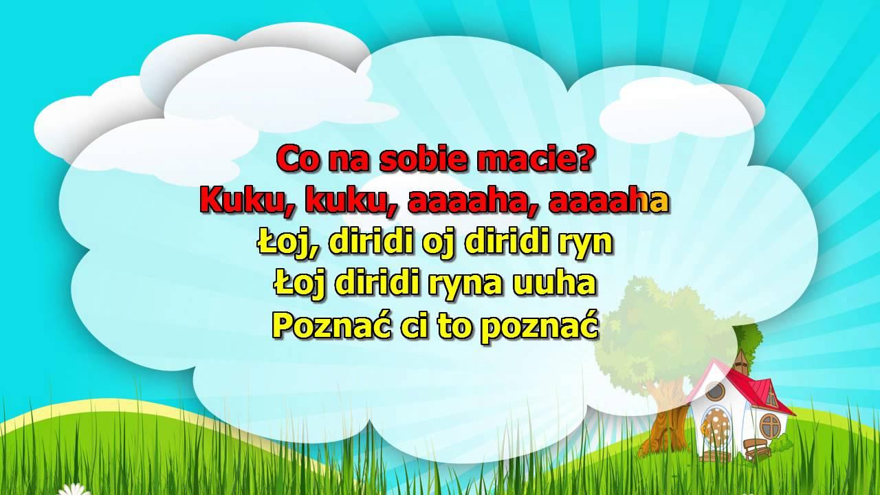 Karaoke dla dzieci – Kukułeczka kuka – z wokalem