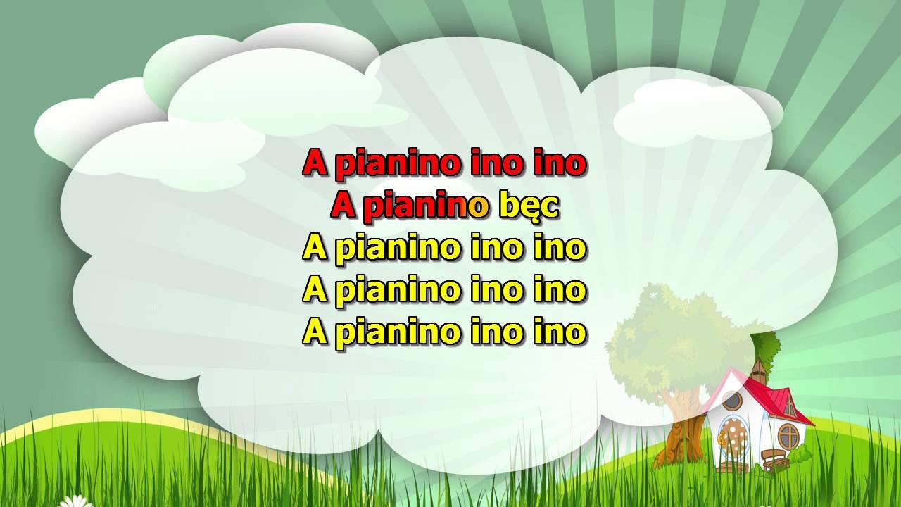 Karaoke dla dzieci – Jestem muzykantem, konszabelantem – z wokalem