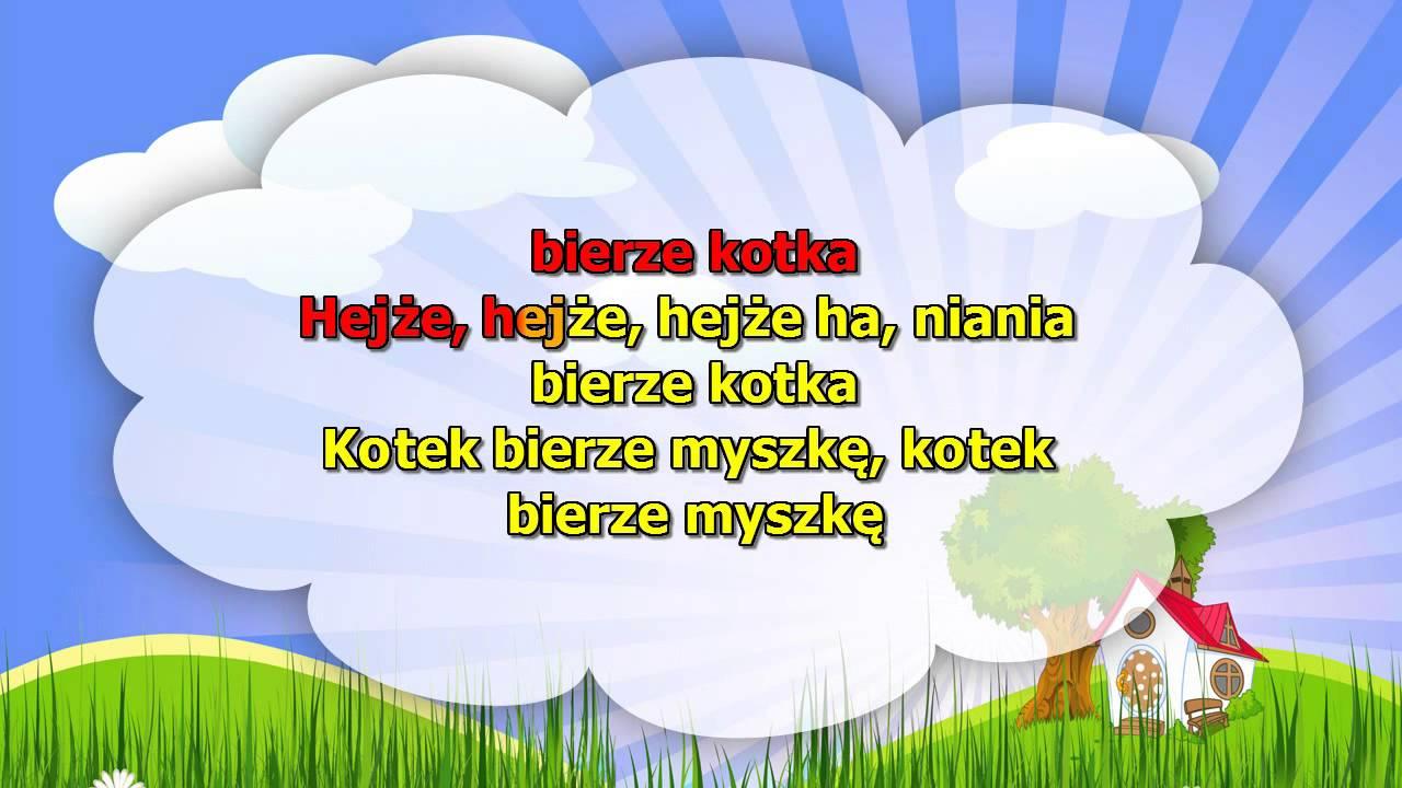 Karaoke dla dzieci – Rolnik sam w dolinie – z wokalem