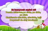 Karaoke dla dzieci – Poszło dziewczę po ziele – z wokalem