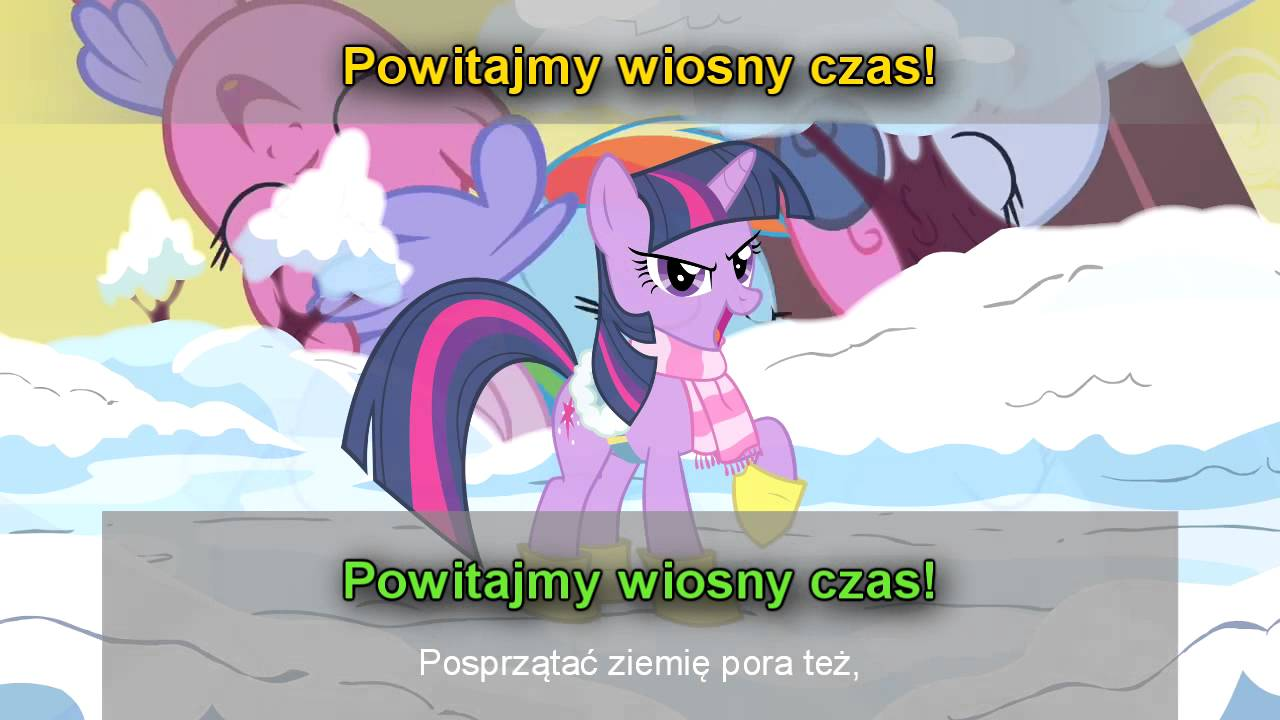 Winter Wrap Up (Mija zima) – MLP PL Karaoke