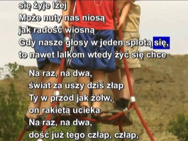 Majka Jeżowska- Na raz na dwa podkład